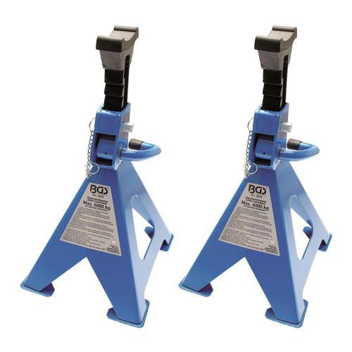 1 Paar Unterstellböcke, 6 to/Paar, 420-600 mm