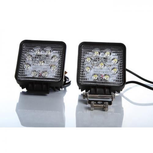 2 x LED Arbeitsscheinwerfer, 9-30 Volt, 27 Watt, Hobby & Freizeit
