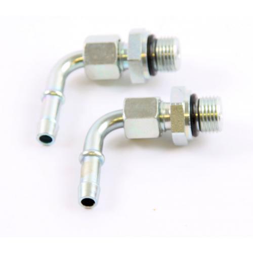 2 x Separ Verschraubungsatz für D= 10 mm Kraftstoffschlauch - gebogener Ausgang 90° M16