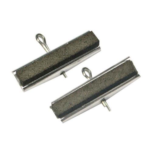 2er-Set Ersatzbacken für Art. 1155, 30 mm Backen, Körnung # 220
