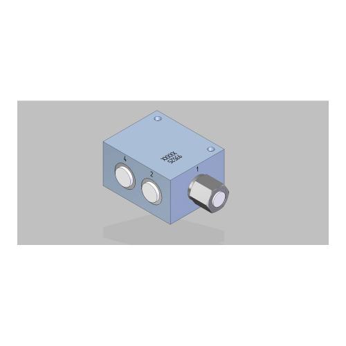 3/2 Wege Schieberventil - hydraulisch betätigt