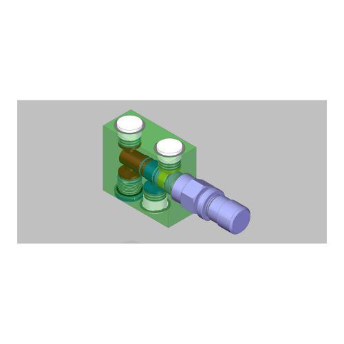 3/2 Wege - Stromregelventil - TB - 10 - 30 l/min
