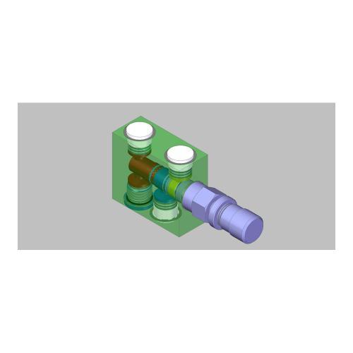 3/2 Wege - Stromregelventil - TB - 6 - 20 l/min