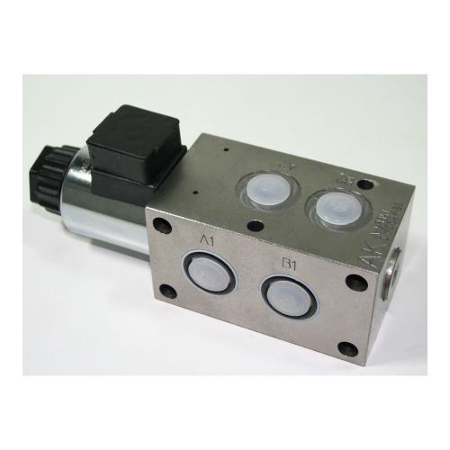 6/2 Wegeventil - TB - 12 VDC - Anschlussgewinde G3/8 - Q max 40 l/min