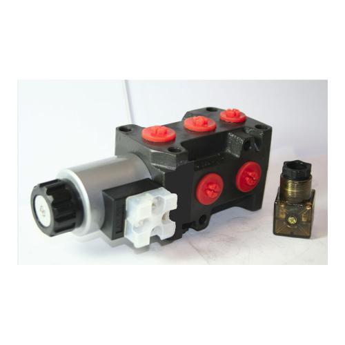 6/2 Wegeventil - TB - 24 VDC - Anschlussgewinde G 3/8, 50 L/min., Leckageanschluss