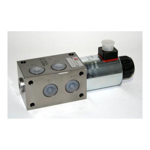 6/2 Wegeventil - TB - Grundventilausführung - 12 VDC - Ausführung rechts - Anschlussgewinde M18 x 1,5 - Q max 70 l/min