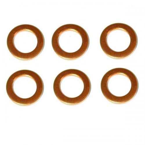 6 x Kupferscheibe Dichtscheibe Hitzescheibe Bosch 2430105009 7, 3 x 15, 0 x 1, 5mm