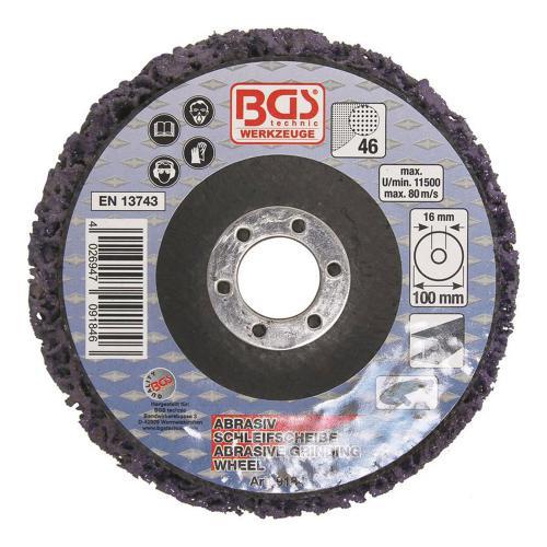 Abrasiv-Schleifscheibe, schwarz, 100 x 16 mm