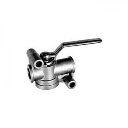 Absperrhahn Druckluftleitung, M22 x 1, 5, Zweileitungs-Druckluftbremsanlage