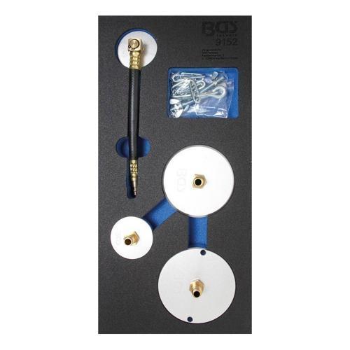 Adaptersatz für Druckluft-Bremsenentlüfter, 4-tlg.