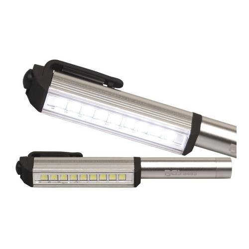 Aluminium-COB-LED-Stift mit 9 LEDs