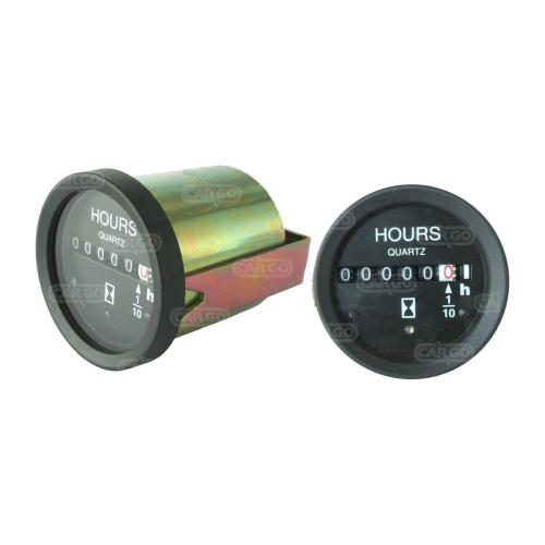 Betriebsstundenzähler 12/28 V - Passend für: Durite-HCUK 0-523-08 - Durite-HCUK 0-523-68