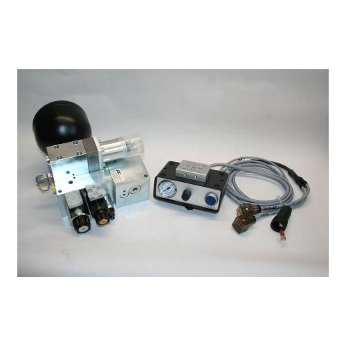 Bodendruckregelventil für Frontkraftheber an Kommunalmaschinen