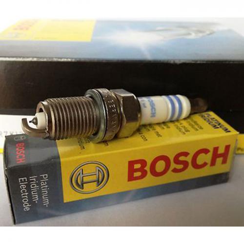 Bosch Zündkerze Platin Iridium, FR 6 KI 332 S für CNG / LPG