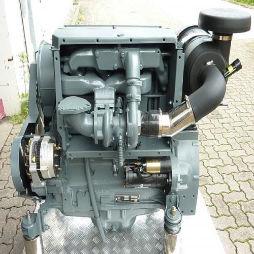 Deutz Motor BF4L913 turbo neu Lizenznachbau, sehr gute Verarbeitung