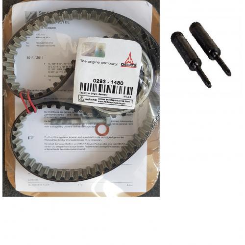 Deutz Zahnriemensatz 0293-7741 KHD für 1011 Motoren inkl. Einstellbolzen