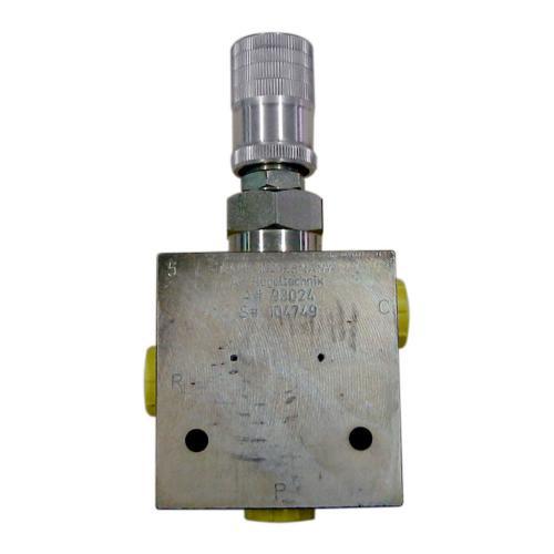 Dreiwege - Stromregelventil 25 bis 60 l/min einstellbar - TG - mit Handrad