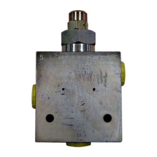 Dreiwege - Stromregelventil 5 bis 70 l/min einstellbar - TG - ohne Handrad