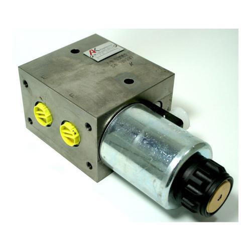 Eilgangventil mit Schockabsorber - TB - 210 bar - 12 VDC - zur Geräteschnellentleerung am Frontlader