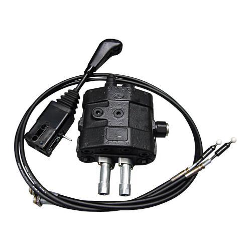Einhebelsteuerventil 100 l/min - für Umlauf mit Weiterlauf - 2000 mm Seilzug