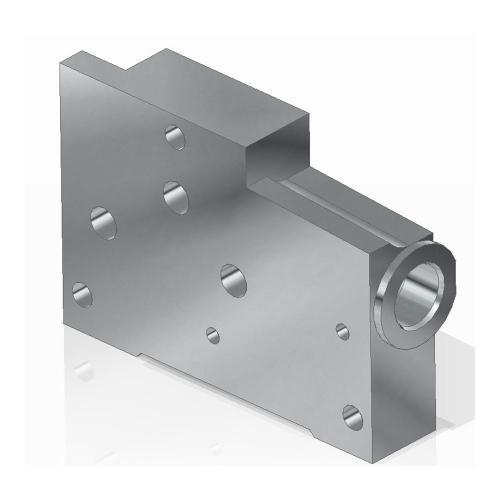 Endplatte für Bosch - System SB 12