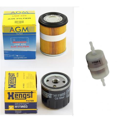 Filter-Set für Wacker DPS1750 DPS2040 DPS2050 PU2450 Motor Farymann 15D 430