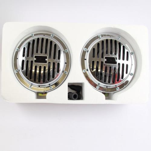 Hupe Oldtimer Retro-Stil Chrom 12-24 V 2 Stück 325 + 400 Hz Vintage