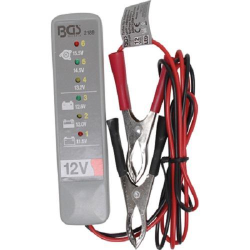 Kfz Batterietester 12 V Batterieprüfer Prüfgerät Lichtmaschinentester Diagnosegerät