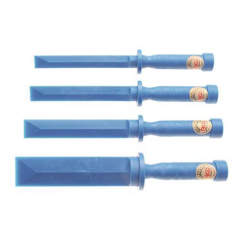 Kunststoff-Schaber-Satz, 19-22-25-38 mm breit, 4-tlg.