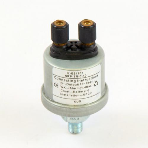 KUS Öldruckgeber 0-10bar inkl. Warnkontakt M10 x 1