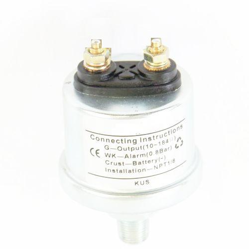KUS Öldruckgeber M10x1  0-10 bar inkl. Alarm bei 1,4 bar 10~184O