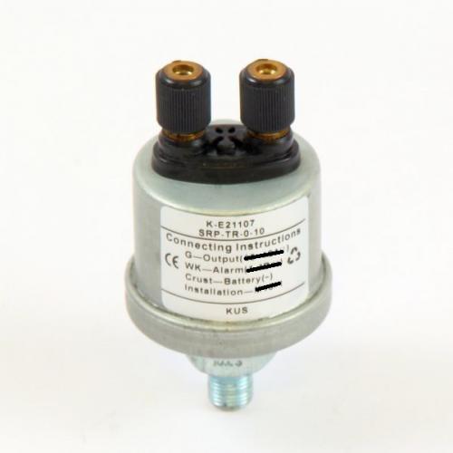 KUS Öldruckgeber NPT 1/8  0-5 bar inkl. Alarm bei 0,8 bar 10~184O