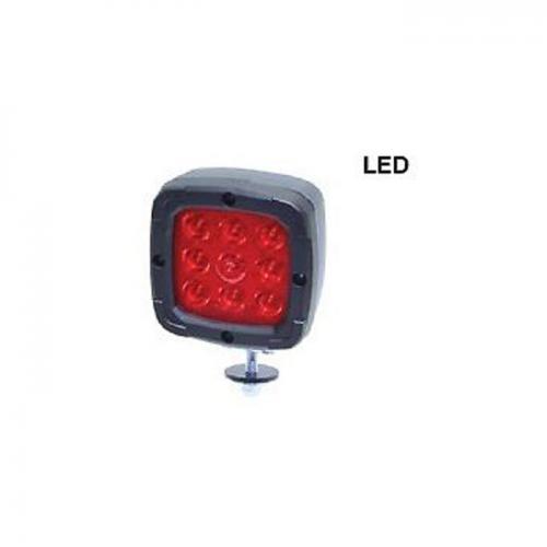 LED Arbeitsscheinwerfer, Salzstreuanlage, Spezial Rotlicht, 1300 Lumen, 10-50V