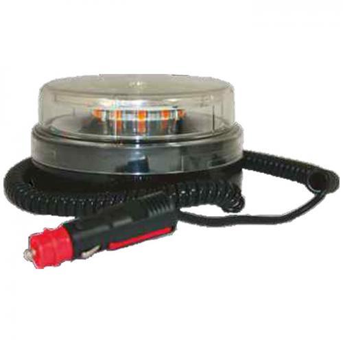 LED Rundumleuchte, Blitzleuchte, Magnet, Kennleuchte, E-Prüfung, LKW, NFZ