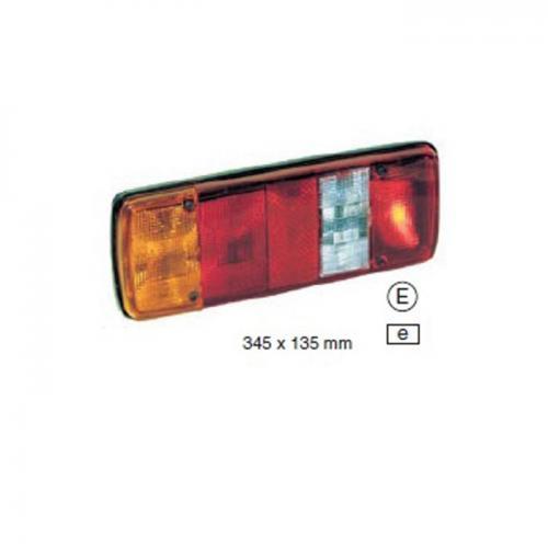 Lichtscheibe für MAN, VW, universal, Vergl.Nr.:2BG 130 946-001, 9EL 122 772 001