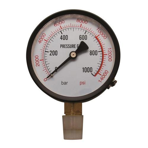 Manometer für Werkstattpresse, passend für BGS 9246