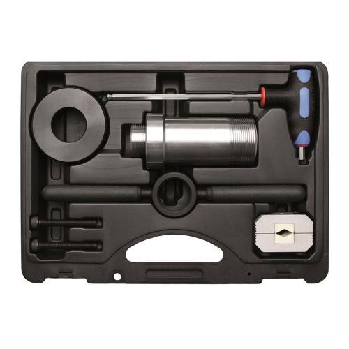 Montagewerkzeug für Stoßdämpfer mit Zuganschlagsfeder, 8-tlg.