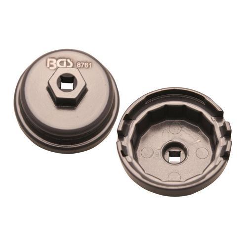 Ölfilterkappe für Toyota / Lexus, 64,5 mm x 14-Kant