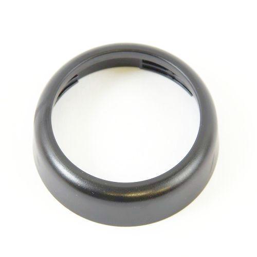 Ring Cover Abdeckung in schwarz-matt 52er VDO-Armatur