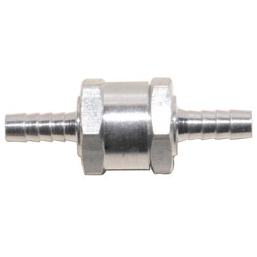 Rückschlagventil Rücklaufventil Alu für Ø 6mm Kraftstoffleitung Diesel Benzin Öl