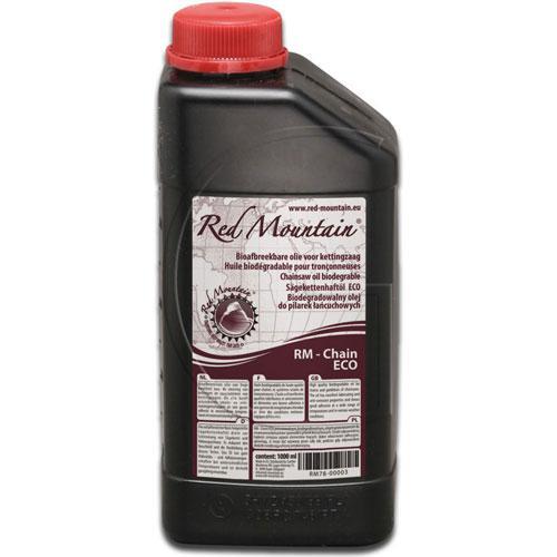 Sägekettenhaftöl auf Pflanzenbasis / Inhalt = 1 l - RED MOUNTAIN®