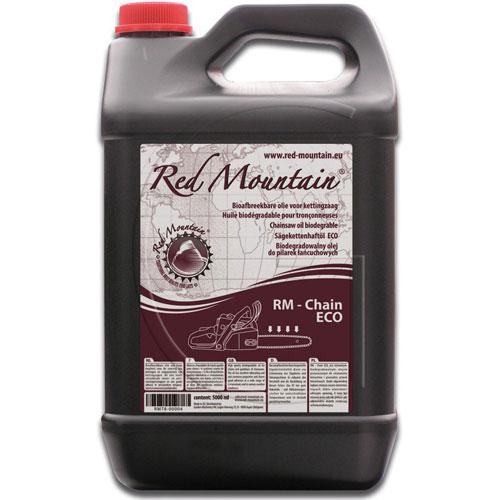 Sägekettenhaftöl auf Pflanzenbasis / Inhalt = 5 l - RED MOUNTAIN®