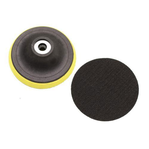 Schleifteller mit Klettaufnahme, 100 mm, passend für BGS 9259