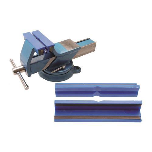 Schraubstock-Schutzbacken, Kunststoff, 125 mm, 2-tlg.