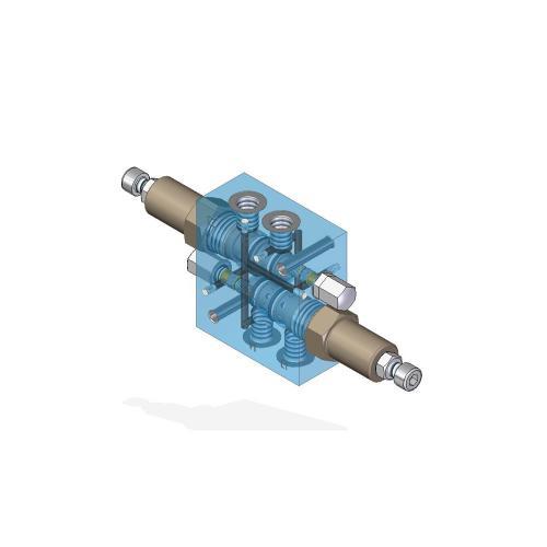 Senkbremsventil doppeltwirkend - TG - G1/4 - Qmax 10 L/min.