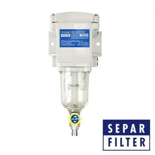 SEPAR SWK 2000/5/50 Wasserabscheider & Filter für leichte Dieselkraftstoffe