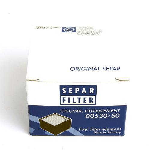 Separ Vorfiltereinsatz 01030/H für SEPAR SWK 2000/10/H Ersatzfilter 30µ Heizelement