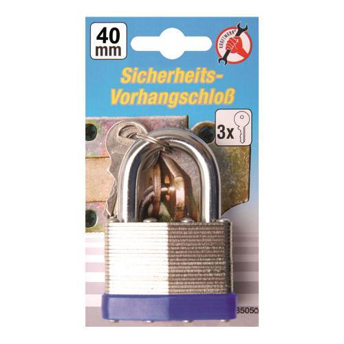 Sicherheits-Vorhängeschloss, 40 mm