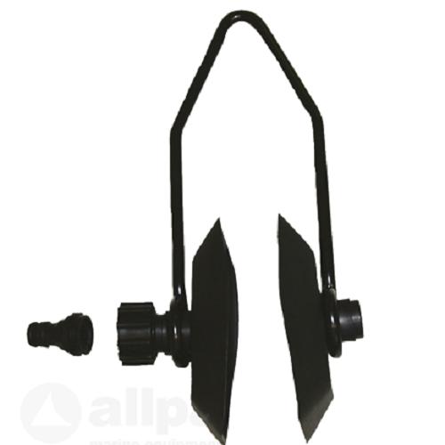 Spülanschluss Aussenborder Universal Flusher Motorspülung Gardena Spülklammer
