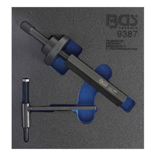 Steuergehäusedeckel-Ausricht- & Pumpenrad-Demontage-Werkzeug-Satz für Ford 1,8 TDdi / TDCi